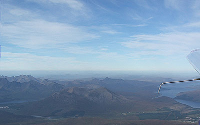 The Cuillin from the Air
